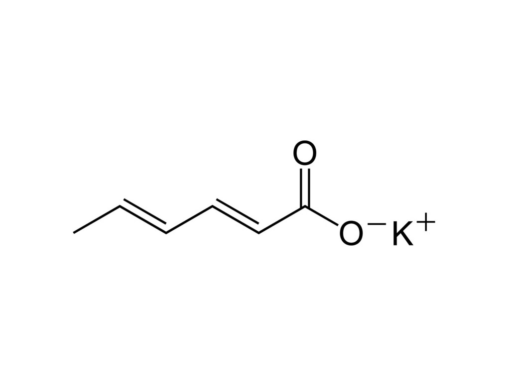 Kaliumsorbaat granulaat E202 25KG
