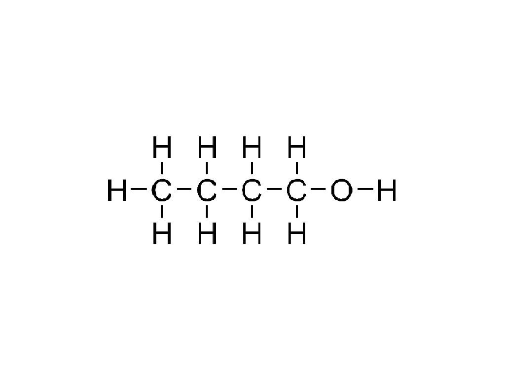Butyl alcohol  C4H9OH  PubChem
